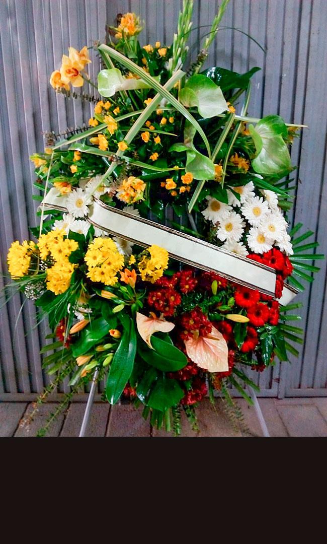 Flores para el último adiós
