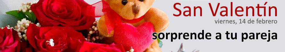 Sorprende a tu pareja el día de San Valentín