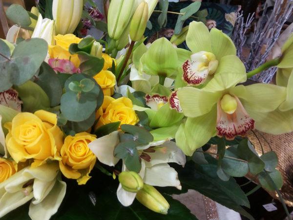Ramo orquídeas detalle