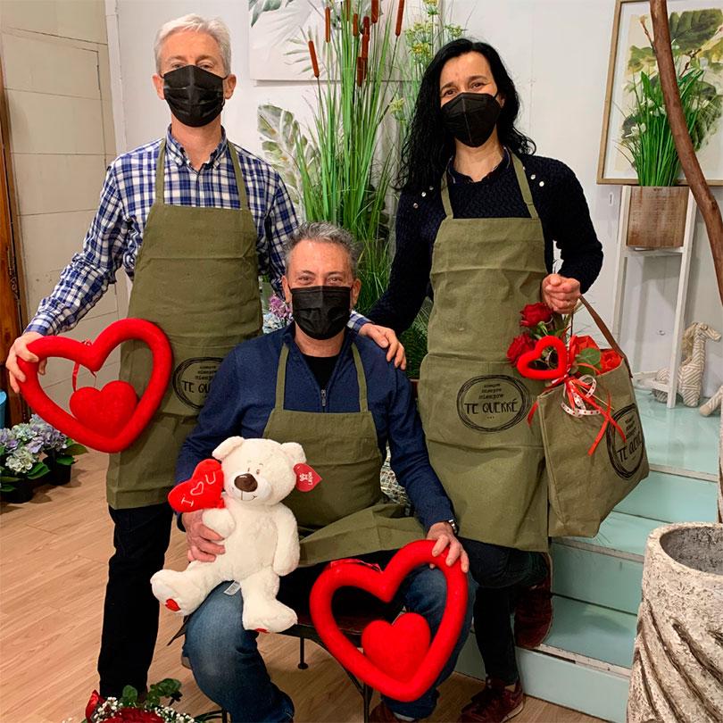 Celebra San Valentín con Ikebana