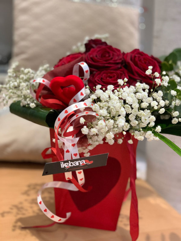 HandBag Rosas Rojas